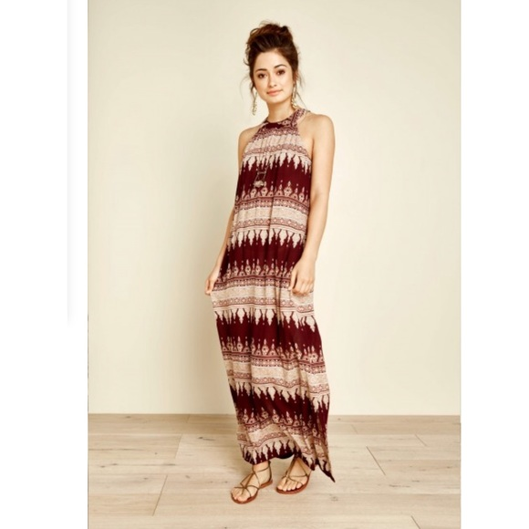 0328ad150967 Earthbound Trading Company Dresses | Earthbound Trading Co Boho Maxi ...